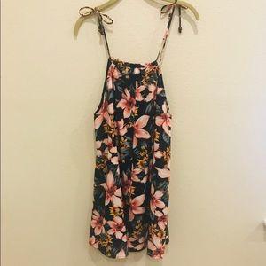 Lulu's Dresses - Lulu's | Hawaiian Haven Navy Floral Dress